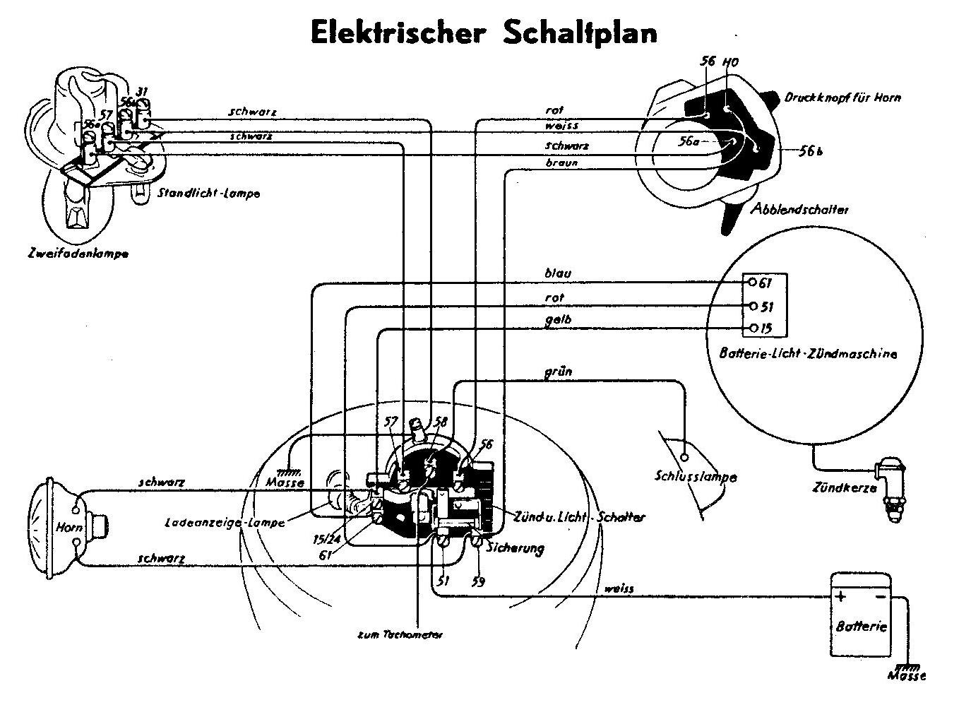 Elektrischer Schaltplan